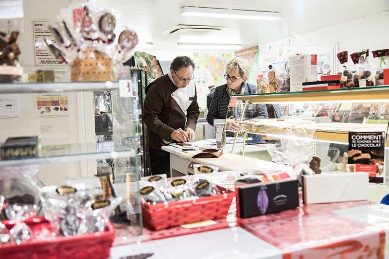 La boutique Chocolaterie Berton
